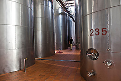 Wine production facility is seen in the Huadong Winery in Qingtao, China, June 23, 2009.
