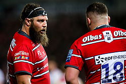 Josh Hohneck of Gloucester Rugby - Mandatory by-line: Robbie Stephenson/JMP - 16/11/2018 - RUGBY - Kingsholm - Gloucester, England - Gloucester Rugby v Leicester Tigers - Gallagher Premiership Rugby