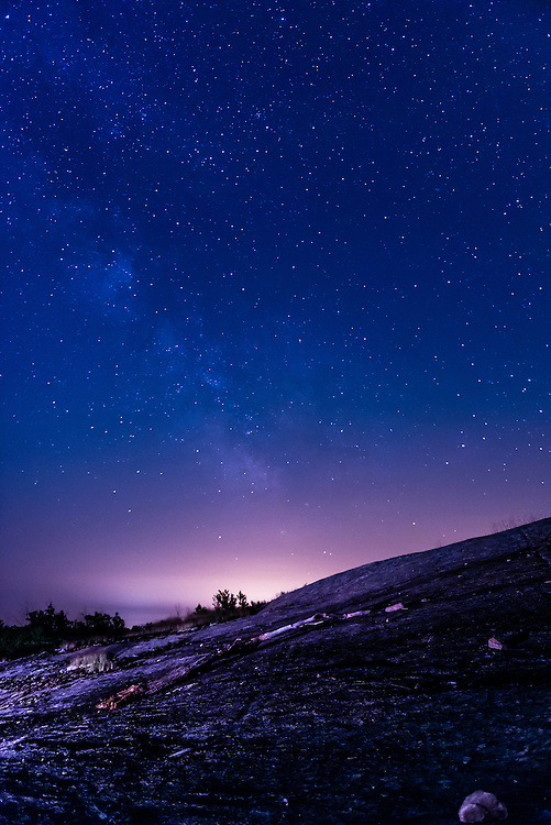 Milky Way, astro-photography from Torrance Barrens Dark Light Reserve in Muskoka, Ontario.