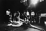 Break dancers at UK Fresh Event, Wembley, London, UK, 1986