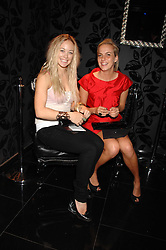 Left to right, ELLIE SHEPHERD and LADY LOUISA COMPTON at the opening of the new club Chloe, 3 Cromwell Road, London on 7th June 2007.<br /><br />NON EXCLUSIVE - WORLD RIGHTS