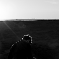 A moment of personal reflection while in the Badlands of South Dakota.