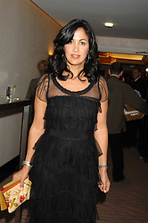 Author POLLY SAMSON at the 2007 Costa Book Awards held at The Intercontinental Hotel, One Hamilton Place, London W1 on 22nd January 2008.<br />