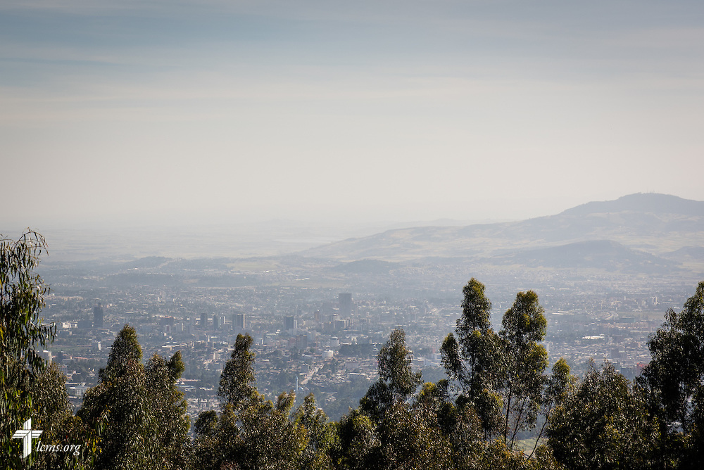 Addis Ababa, Ethiopia, seen from the Entoto Maryam Church, on Sunday, Nov. 9, 2014. LCMS Communications/Erik M. Lunsford
