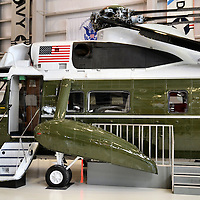 Marine One Helicopter at National Naval Aviation Museum in Pensacola, Florida<br />