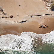 WRIGHTSVILLE BEACH, NC - Aerials of beach scenes.