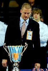 17-02-2013 VOLLEYBAL: CUP FINAL FIRMX ORION - DRAISMA DYNAMO: ZWOLLE<br /> Orion van de beker door Dynamo met 3-0 te verslaan / Bas Rauwerdink<br /> &copy;2013-WWW.FOTOHOOGENDOORN.NL