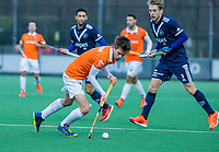 BLOEMENDAAL - Thierry Brinkman (Bldaal) tijdens de competitie hoofdklasse hockeywedstrijd heren, Bloemendaal-Pinoke (3-2)   COPYRIGHT KOEN SUYK