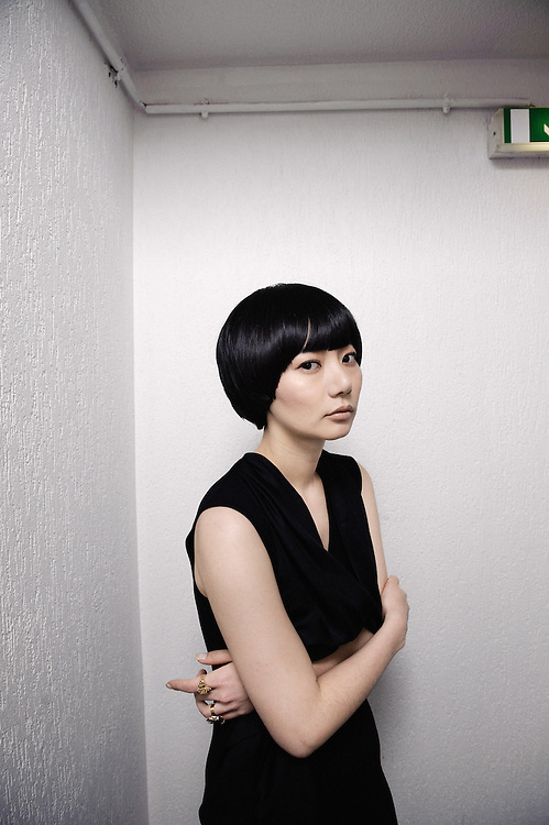 Air Doll (Kuki Ningyo)'s KORE-EDA Hirokazu: actress BAE Doona at the Cannes Film Festival. France. 14 May 2009. Photo: Antoine Doyen