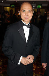 Shoe designer JIMMY CHOO at the 10th Anniversary Asian Business Awards 2006 at the London Grosvenor Hotel Park Lane, London on 19th April 2006.<br />