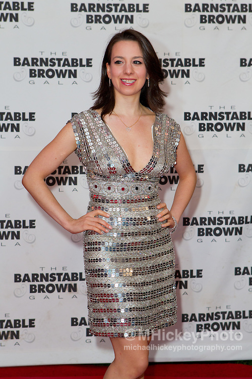 Sarah Hughes attends the Barnstable Brown Gala in Louisville, Kentucky on May 6, 2011.