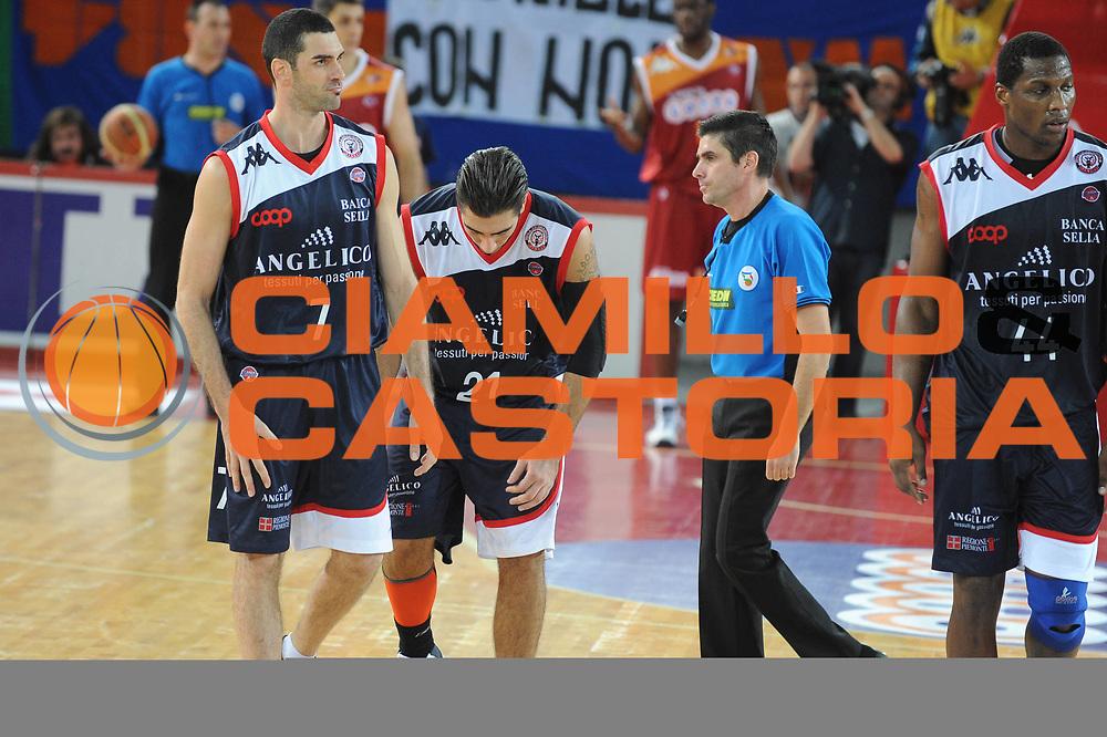 DESCRIZIONE : Roma Lega A 2009-10 Basket Lottomatica Virtus Roma Angelico Biella<br /> GIOCATORE : Pietro Aradori<br /> SQUADRA : Angelico Biella<br /> EVENTO : Campionato Lega A 2009-2010<br /> GARA : Lottomatica Virtus Roma Angelico Biella<br /> DATA : 08/11/2009<br /> CATEGORIA : Delusione<br /> SPORT : Pallacanestro<br /> AUTORE : Agenzia Ciamillo-Castoria/G.Ciamillo<br /> Galleria : Lega Basket A 2009-2010 <br /> Fotonotizia : Roma Campionato Italiano Lega A 2009-2010 Lottomatica Virtus Roma Angelico Biella<br /> Predefinita :