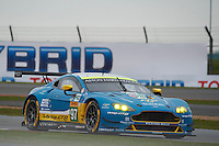 Richie Stanaway (NZL) / Fernando Rees (BRA) / Darren Turner (GBR) #97 Aston Martin Racing Aston Martin Vantage, during Free Practice 1  as part of the WEC 6 Hours of Silverstone 2016 at Silverstone, Towcester, Northamptonshire, United Kingdom. April 15 2016. World Copyright Peter Taylor. Copy of publication required for printed pictures.