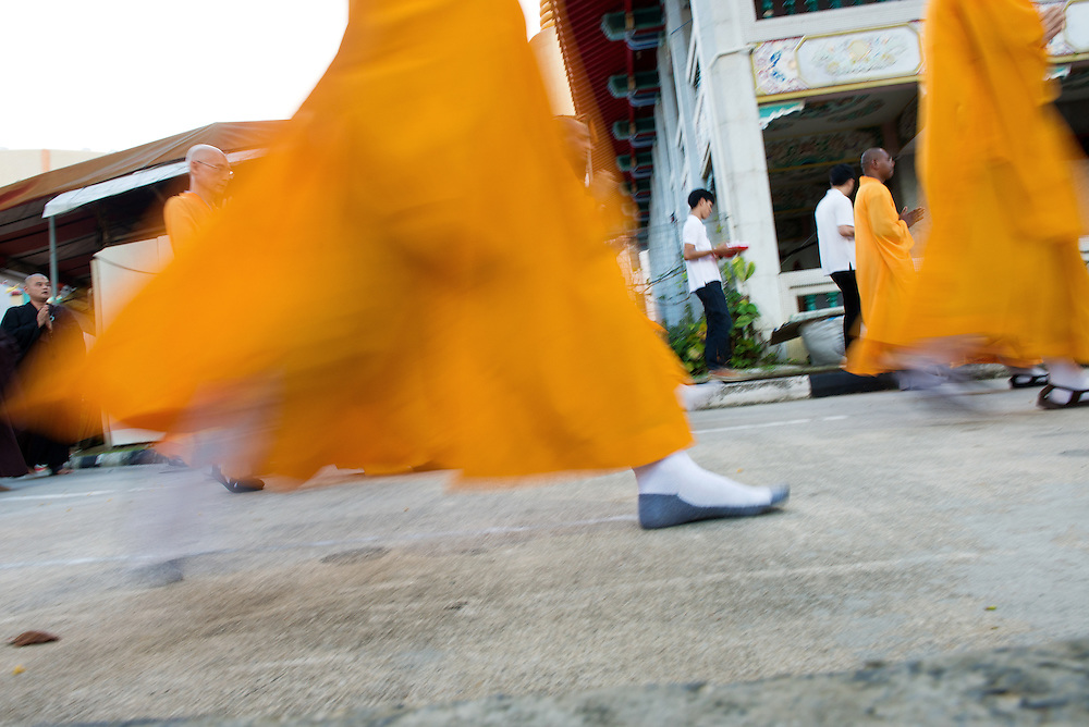 Celebration of Vesak Day in Singapore 2014