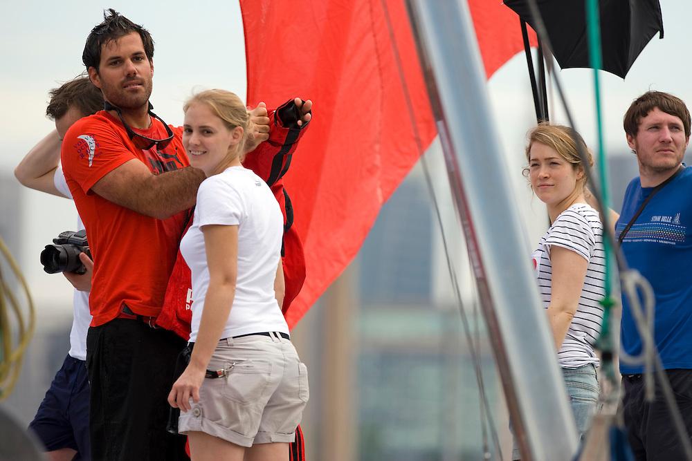 27MAR09 PUMA Ocean Racing fashion shoot. Shannon Falcone and Kate Fairclough