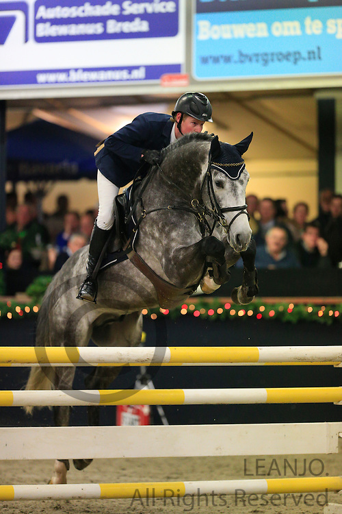 Sander Naber - California<br /> <br /> KNHS/KWPN GMB Hengstencompetitie Roosendaal 2012<br /> © DigiShots