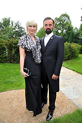 EVGENY LEBEDEV and Anastasia Virganskay at the Raisa Gorbachev Foundation fourth annual fundraising gala dinner held at Stud House, Hampton Court, Surrey on 6th June 2009.
