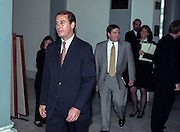 RepublicanConference Chairman John A. Boehner walks to the Majority Caucus meeting November 18, 1998 in Washington, DC. The caucus is electing a new speaker and leadership positions following midterm elections.