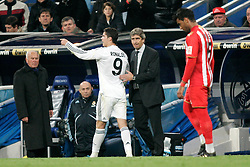 Real Madrid's Cristiano Ronaldo argues after being sent off during La Liga match, November 05, 2009.