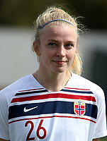 International Women's Friendly Matchs 2019 / <br /> Womens's Algarve Cup Tournament 2019 - <br /> China v Norway 1-3 ( Municipal Stadium - Albufeira,Portugal ) - <br /> Ina Gausdal of Norway
