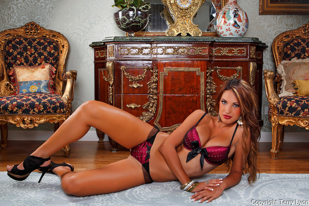 Jacinta Rokich luxury house shoot for Playboy Terry Lyon