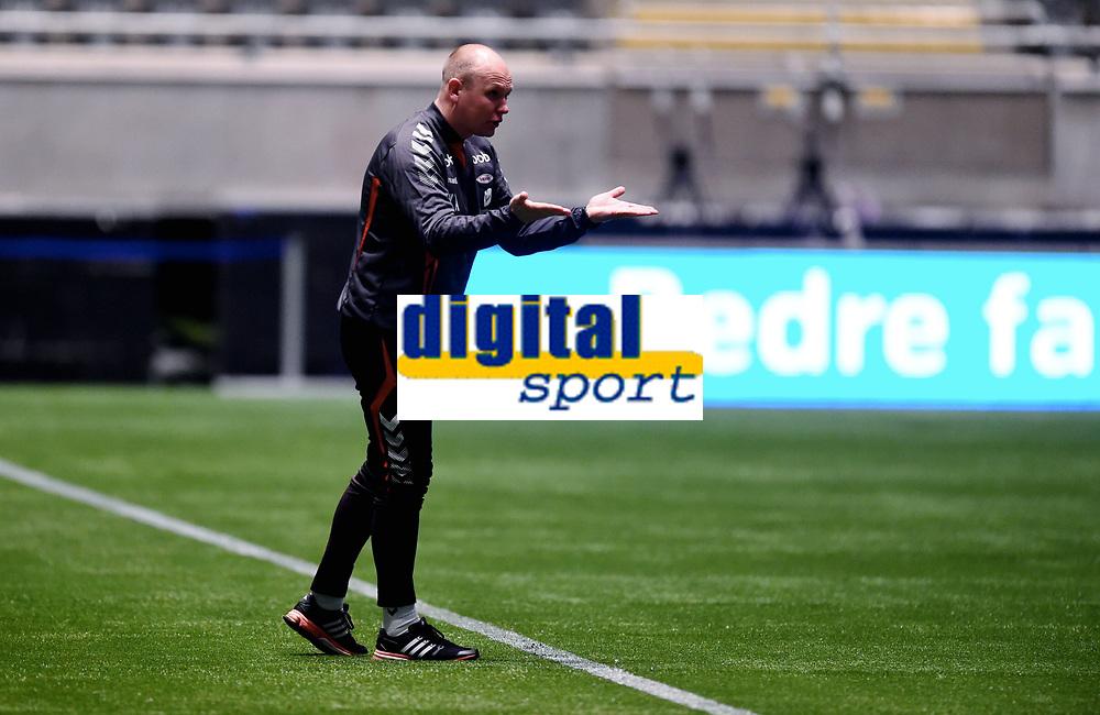 Fotball , 20 . november 2015 , NM finale G16<br /> Brann - Lillestrøm 1-4<br /> trener Kristian Andersen , Brann