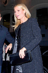 Actress Gwyneth Paltrow arrives for the  Boss Nuit Pour Femme party, Neptune Palace, Madrid, Spain, October 29, 2012. Photo by Marta G. Rodriguez / DyD Fotografos / i-Images...SPAIN OUT