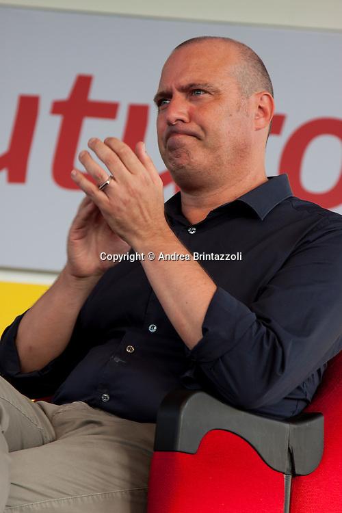 Bologna 27 Agosto 2014 - Inaugurazione Festa Nazionale de L'Unit&agrave;. Che storia, il futuro!<br /> Nella foto: Stefano Bonaccini