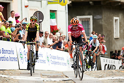 Marianne Vos (NED) speeds by to win the stage ahead of Lucy Kennedy (AUS) at Stage 3 of 2019 Giro Rosa Iccrea, a 104.7 km road race from Sagliano Micca to Piedicavallo, Italy on July 7, 2019. Photo by Sean Robinson/velofocus.com