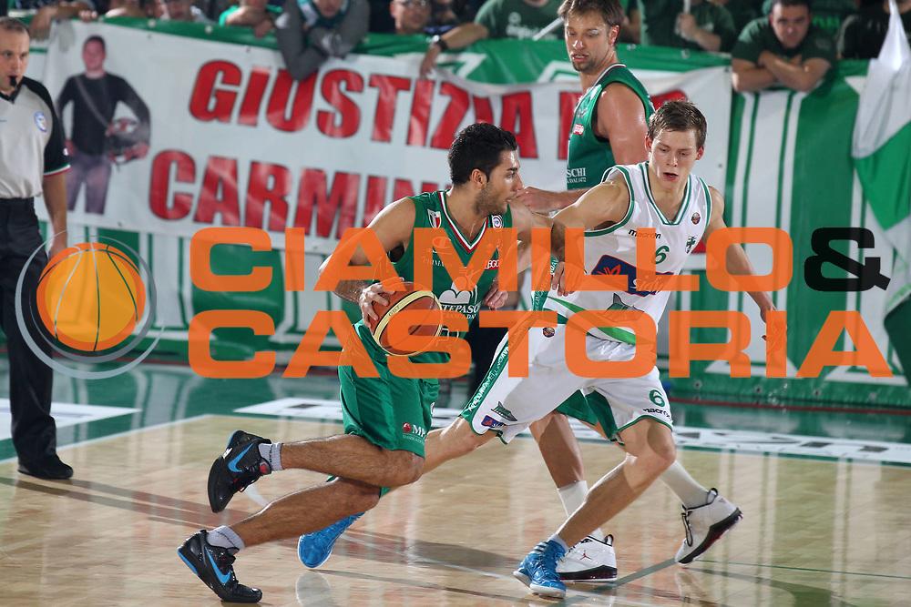 DESCRIZIONE : Avellino Lega A 2011-12 Sidigas Avellino Montepaschi Siena<br /> GIOCATORE : Pietro Aradori<br /> CATEGORIA : palleggio<br /> SQUADRA : Montepaschi Siena<br /> EVENTO : Campionato Lega A 2011-2012<br /> GARA : Sidigas Avellino Montepaschi Siena<br /> DATA : 11/12/2011<br /> SPORT : Pallacanestro<br /> AUTORE : Agenzia Ciamillo-Castoria/ElioCastoria<br /> Galleria : Lega Basket A 2011-2012<br /> Fotonotizia : Avellino Lega A 2011-12 Sidigas Avellino Montepaschi Siena<br /> Predefinita :