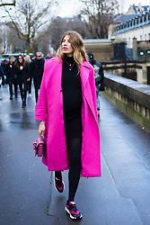 Veronika Heilbrunner is seen during Paris Fashion Week Womenswear Fall/Winter 2018/2019, on March 4, 2018 in Paris, France.  (Photo by Nataliya Petrova/NurPhoto/Sipa USA)