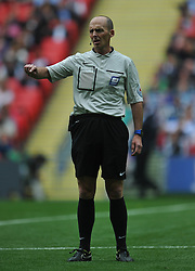 Referee Mike Deene, Middlesbrough v Norwich, Sky Bet Championship, Play Off Final, Wembley Stadium, Monday  25th May 2015