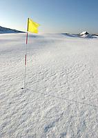 Noordwijkse GC in de sneeuw Hole 10