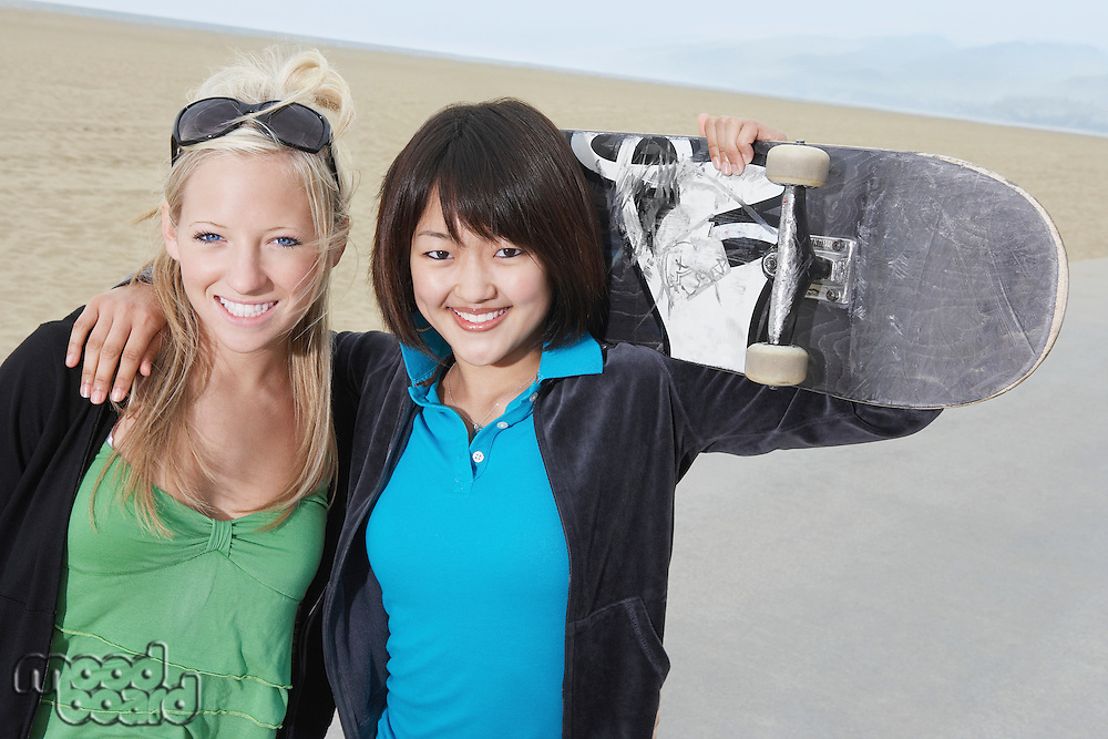 Young Skateboarders