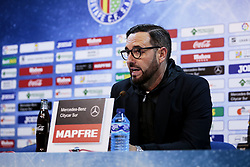 November 10, 2018 - Getafe, Madrid, Spain - Getafe CF's coach Jose Bordalas during La Liga match between Getafe CF and Valencia CF at Coliseum Alfonso Perez in Getafe, Spain. November 10, 2018. (Credit Image: © A. Ware/NurPhoto via ZUMA Press)