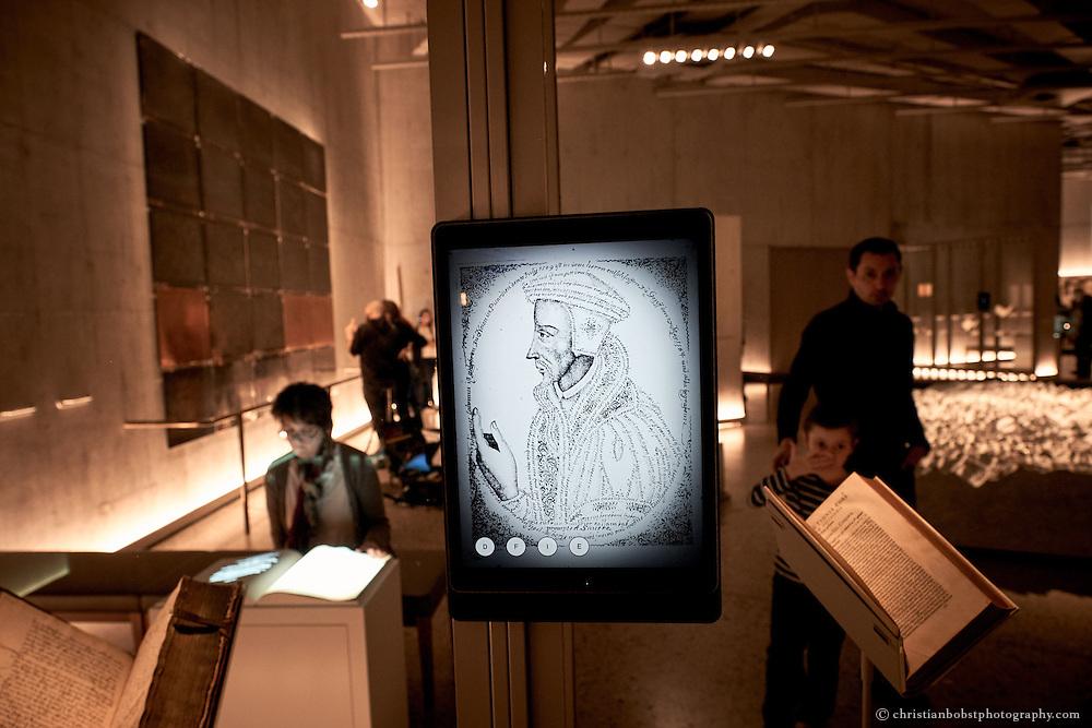 Landesmuseum Zürich, Innenaufnahme, permanente Ausstellungen
