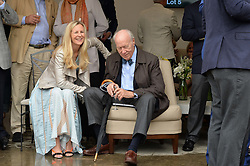 ALANNAH WESTON and VINCENT POKLEWSKI KOZIELL at the Goffs London Sale held at The Orangery, Kensington Palace, London on 12th June 2016.