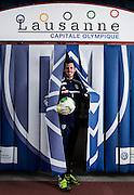 03.10.2013; Lausanne; Fussball Super League - FC Lausanne Sport;  Portrait Kevin Fickentscher (Lausanne). (Christian Pfander/freshfocus)