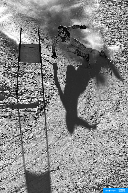Elli Terwiel, Canada, in action during the Women's Giant Slalom competition at Coronet Peak, New Zealand during the Winter Games. Queenstown, New Zealand, 23rd August 2011. Photo Tim Clayton