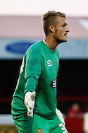 Liam O'Brien of Dagenham and Redbridge during the Pre Season Friendly match at the London Borough of Barking and Dagenham Stadium, London<br /> Picture by David Horn/Focus Images Ltd +44 7545 970036<br /> 22/07/2014