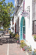 Shops Along Del Mar Street in San Clemente