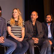 NLD/Amsterdam/20130911 - Trailerpremiere Mannenharten, Jeroen Spitzenberger, Hadewych Minis, Alain de Levita en Kaja Wolffers