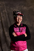 Christine Song during a portrait session prior to the Symetra Tour's Florida's Natural Charity Classic at the Lake Region Yacht and Country Club on Mar 18, 2013  in Winter Haven, Florida. ..©2013 Scott A. Miller