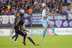 Miran Burgic of ND Gorica during football match between NK Maribor and ND Gorica in Round #36 of Prva liga Telekom Slovenije 2017/18, on April 27, 2018 in Ljudski vrt, Maribor, Slovenia. Photo by Urban Urbanc / Sportida