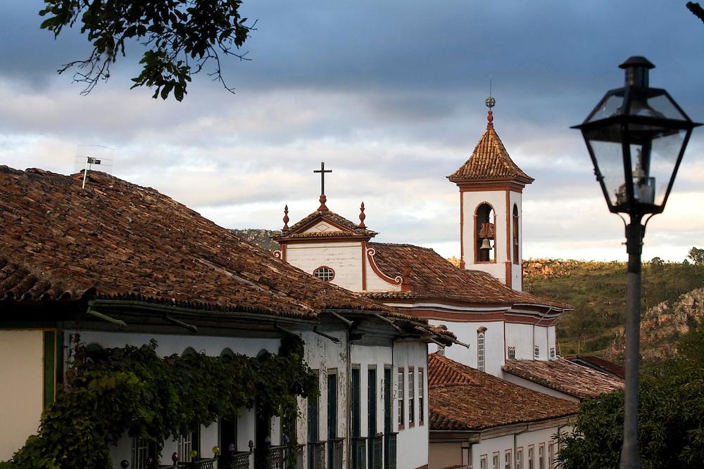 Diamantina_MG, Brasil...Igreja de Nosso Senhor do Bonfim dos Militares em Diamantina...The Nosso Senhor do Bonfim dos Militares church in Diamantina...Foto: BRUNO MAGALHAES / NITRO.