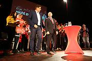 Mannheim. 19.09.17 | SPD-Kanzlerkandidat Martin Schulz im Capitol Mannheim.<br /> Im Wahlkampf zur Bundestagswahl unterstützt Kanzlerkandidat Martin Schulz Mannheims SPD Bundestagsabgeordneter Stefan Rebmann.<br /> <br /> <br /> BILD- ID 2366 |<br /> Bild: Markus Prosswitz 19SEP17 / masterpress (Bild ist honorarpflichtig - No Model Release!)