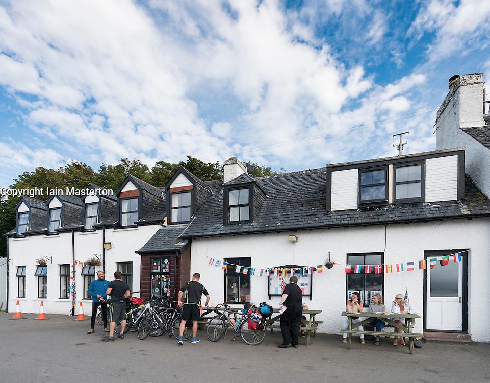 Applecross Inn pub and hotel in Applecross peninsula in Scotland, United Kingdom