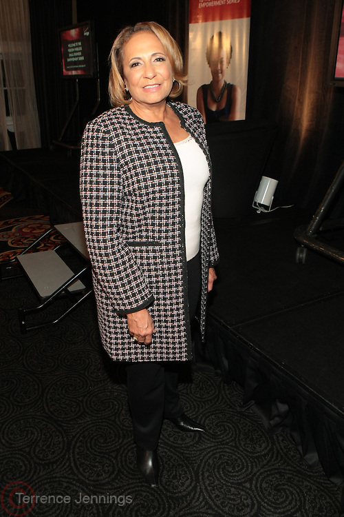 Washington, DC: January 26: Cathy Hughes, founder Radio One/TV One at the Verizon Wireless Empowerment Series held at the Hotel Monaco on January 26, 2012 in Washington, D.C. Photo Credit: Terrence Jennings