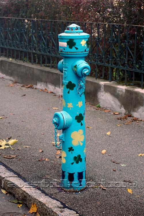 Finy hydrant in Klagenfurt, Austria.