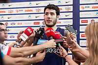 Alex Abrines during the Spain training session before EuroBasket 2017 in Madrid. August 02, 2017. (ALTERPHOTOS/Borja B.Hojas)